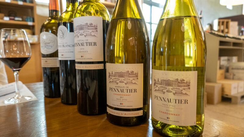 Degustation De Vin Au Chateau De Pennautier Dans L Aude En Occitanie